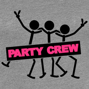 Party Crew Team T-shirts - Dame premium T-shirt