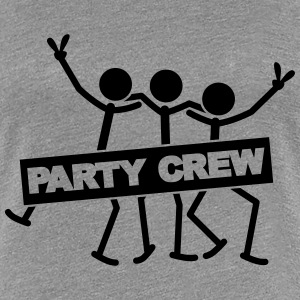 Party Crew Team T-shirts - Premium-T-shirt dam