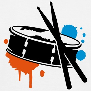 A drum and sticks as a graffiti T-Shirts - Men's T-Shirt