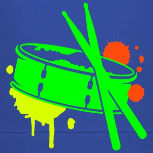 A drum and sticks as a graffiti Hoodies - Kids' Premium Hoodie