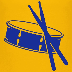 A drum and sticks Shirts - Kids' Premium T-Shirt