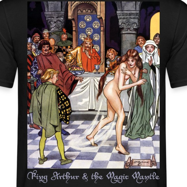 King Arthur & the Magic Mantle (Back)