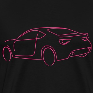 Motorsport Speed Drift Auto Tribal - Männer Premium T-Shirt