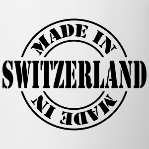 made_in_switzerland_m1 Bottiglie e tazze - Tazza