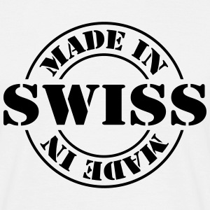 made_in_swiss_m1 T-shirts - Herre-T-shirt