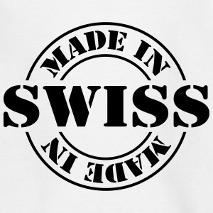 made_in_swiss_m1 Shirts - Teenage T-shirt