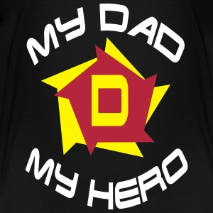 My dad my hero Shirts - Kinderen Premium T-shirt