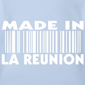 Made in LA REUNION Baby (1c) - Body bébé bio manches courtes