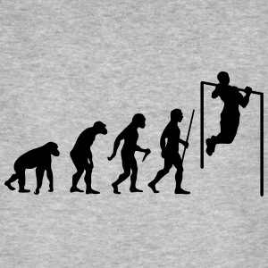 Evolution Pull Up Magliette - T-shirt ecologica da uomo