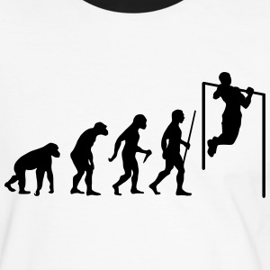 Evolution Pull Up T-Shirts - Männer Kontrast-T-Shirt