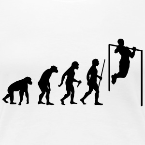 Evolution Pull Up T-Shirts - Frauen Premium T-Shirt
