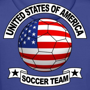 us soccer team Sweat-shirts - Sweat-shirt à capuche Premium pour hommes