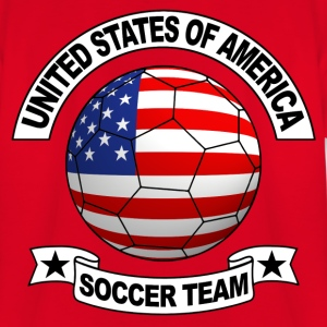 us soccer team Shirts - Teenage T-shirt