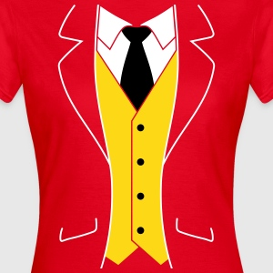 Tuxedo Smoking T-Shirts - Frauen T-Shirt