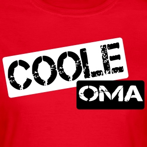 coole oma - Frauen T-Shirt