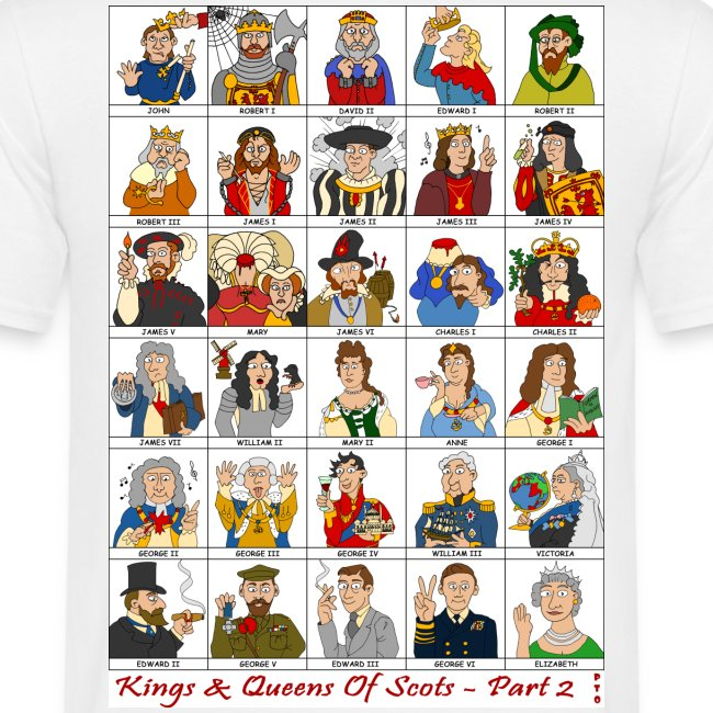 Kings & Queens of Scots (Front & Back)