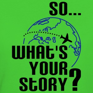 What's your story? T-shirts - Organic damer