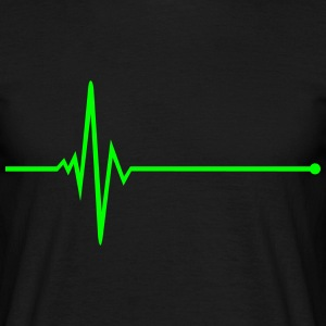 Pulse - frequency T-Shirts - Men's T-Shirt