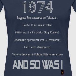 1974 - 40th Birthday T-Shirts - Women's Premium T-Shirt