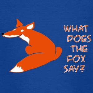 fuchs what does the fox say T-Shirts - Teenager T-Shirt