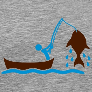 Fishing T-shirts - Mannen Premium T-shirt