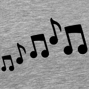Music Design T-shirts - Mannen Premium T-shirt