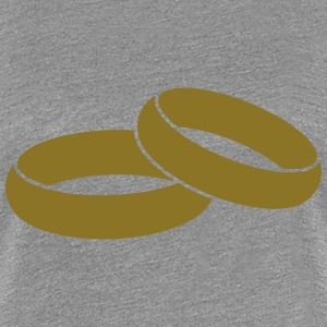 Rings T-Shirts - Frauen Premium T-Shirt