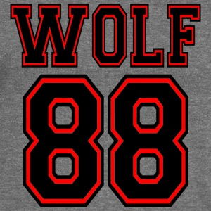 ♥♫I Love EXO Wolf 88 Bella Long Sleeve Tee♪ - Women's Boat Neck Long Sleeve Top