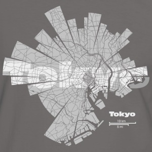 Tokyo Tee shirts - T-shirt contraste Homme