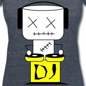Puppe DJ - XL T-Shirts - Women's V-Neck T-Shirt