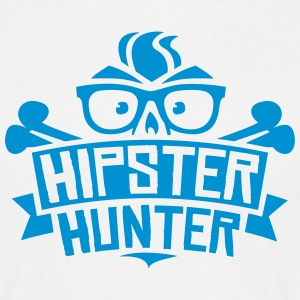 Anti Hipster - Hipster Hunter Shirt Spreadshirt T-Shirts - Männer T-Shirt