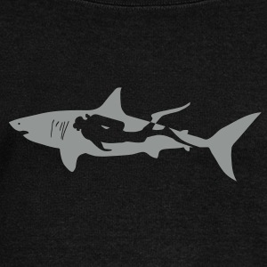 taucher hai tauchen scuba diving diver shark