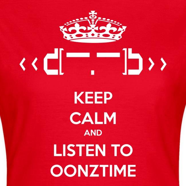 Keep Calm Oonztime TS Woman
