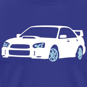 Sports Car T-shirts - Mannen Premium T-shirt