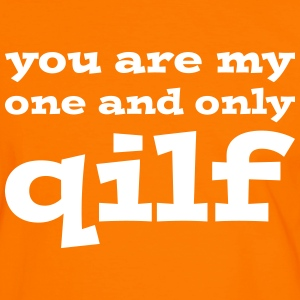 You are my one and only QILF T-shirts - Mannen contrastshirt