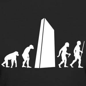 Evolution - Monolith T-Shirts - Frauen Bio-T-Shirt