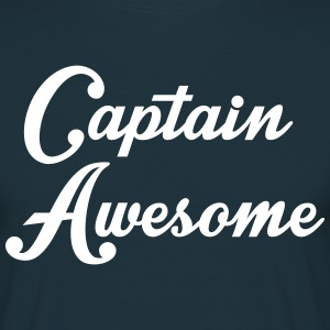 Captain Awesome T-Shirts - Men's T-Shirt