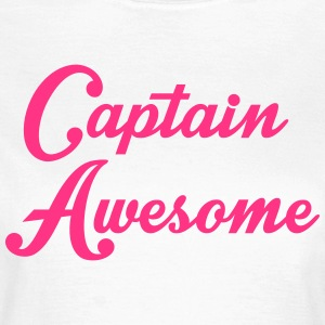 Captain Awesome T-Shirts - Women's T-Shirt