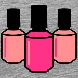 Nail Polish Design T-Shirts - Men's Premium T-Shirt