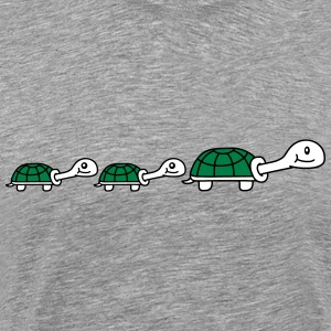 Cute Turtle Family T-Shirts - Men's Premium T-Shirt