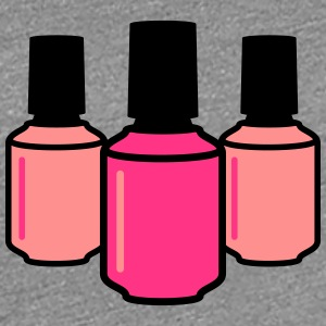 Nail Polish Design T-Shirts - Frauen Premium T-Shirt
