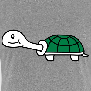 Cute Turtle T-Shirts - Frauen Premium T-Shirt
