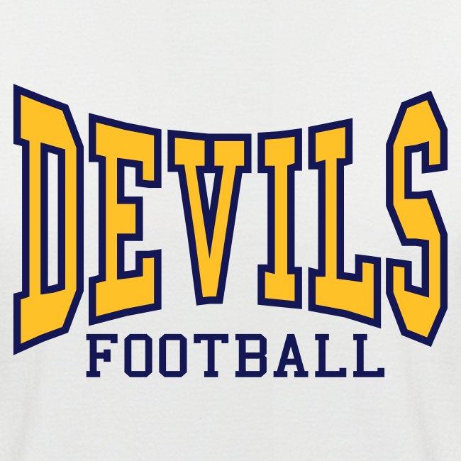Devils Football Two Tone T-Shirt
