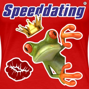 Speeddating Frosch T-Shirts - Frauen Premium T-Shirt
