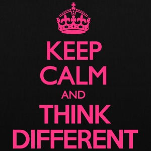 Keep Calm and Think Different Bags & Backpacks - Tote Bag