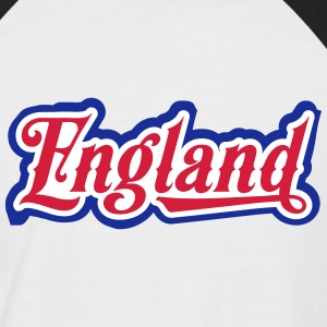 England - Great Britain T-Shirts - Männer Baseball-T-Shirt