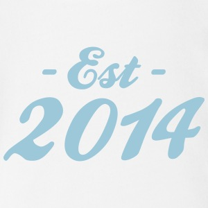 established 2014 - baby birth Skjorter - Økologisk kortermet baby-body