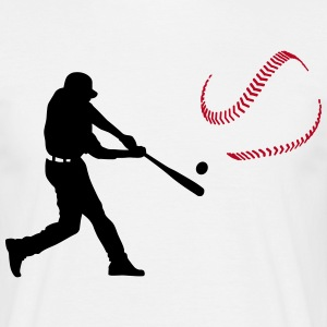 baseball player T-shirts - Herre-T-shirt