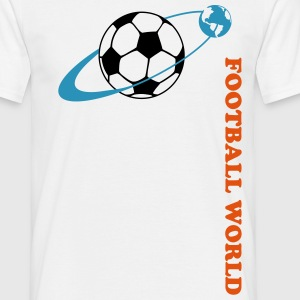 Football world T-shirts - T-shirt herr