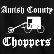 Design ~ Amish County Choppers Kid's T-Shirt